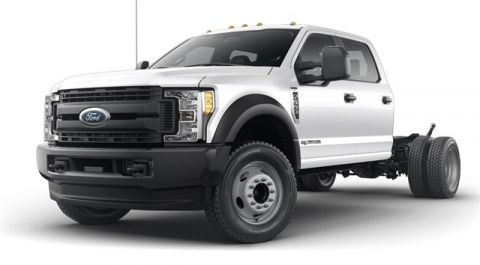 New 2019 Ford F-550SD XL 4WD 4D Crew Cab