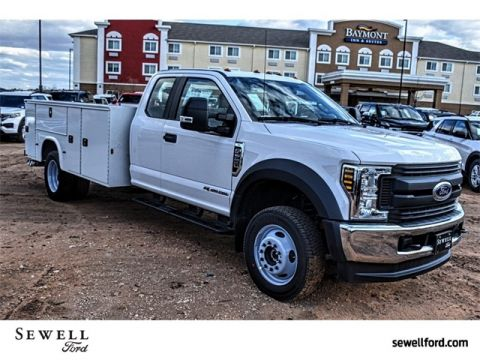 New 2019 Ford F-550SD XL 4WD Cab/Chassis