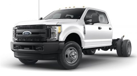 New 2019 Ford F-350SD XL 4WD 4D Crew Cab