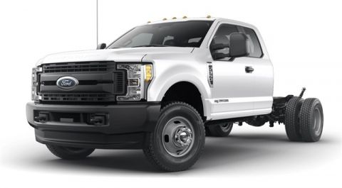 New 2019 Ford F-350SD XL 4WD Cab/Chassis