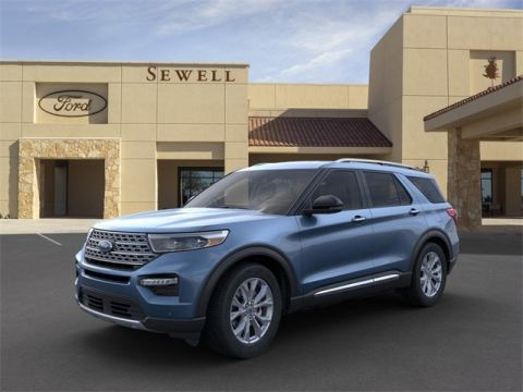 New 2020 Ford Explorer Limited RWD 4D Sport Utility