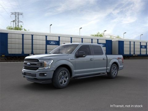 New 2020 Ford F-150 XLT 4WD 4D SuperCrew