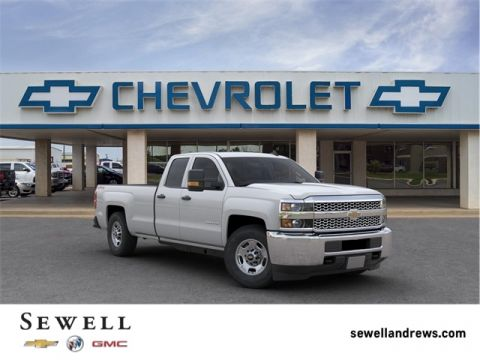 New 2019 Chevrolet Silverado 2500HD Work Truck 4WD Double Cab